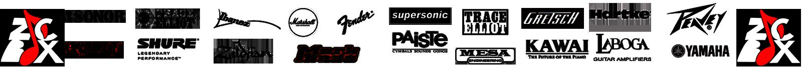 Marshall-ivanez-trace elliot-shure-capelle-orange-sonor-zildjian-mark bass-fender-supersonic-paiste-mesa-gretsch-kawai-hartke-laboga-peavey-laboga-zicbox
